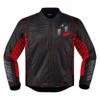 BLOUSON TAILLE 2XL...ICON JACKET WIREFORM™ BLACK / RED / GRAY...PE28203607...LABOUTIQUEDUBIKER