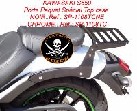 PORTE PAQUET SPECIAL TOP CASE ORCAL 125 ASTOR...NOIR...SP1190TCNE...SPAAN-LA BOUTIQUE DU BIKER