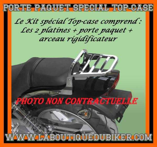 porte paquet harley softail fl de 2000 2014 special top case ch sp813tc la boutique du biker. Black Bedroom Furniture Sets. Home Design Ideas