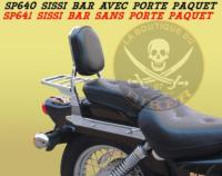 SISSI-BAR SUZUKI 125/250 MARAUDER...SANS PORTE PAQUET CHROME...SP641...laboutiquedubiker