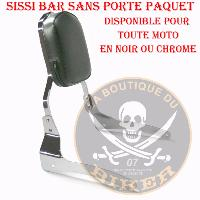 SISSI-BAR KYMCO 250 VENOX...SANS PORTE PAQUET CHROME...SP516 #LABOUTIQUEDUBIKER