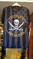 TEE-SHIRT...TAILLE L...COLLECTION de LA BOUTIQUE DU BIKER...100% POLYESTER
