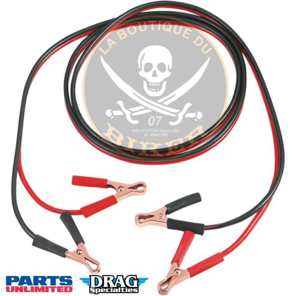 CABLE DE BATTERIE 183 CMS Calibre 10...PE091200006...LA BOUTIQUE DU BIKER