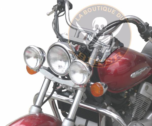 SUPORT PHARE ADDITIONNEL HONDA VT125 SHADOW...SP881  #LABOUTIQUEDUBIKER