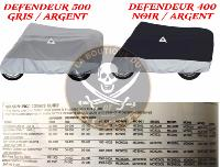 HOUSE XL NELSON-RIGG BLACK/SILVER...D4400 DEFENDEUR 500...LA BOUTIQUE DU BIKER